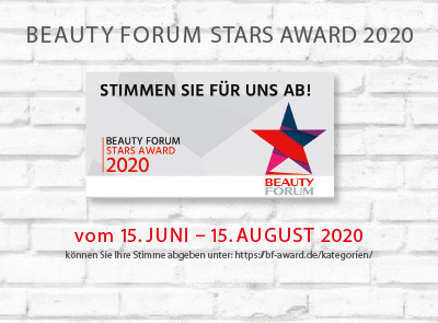 AktuellesLink_BEAUTY_FORUM_STARS_AWARD_2020